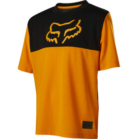 Fox Ranger Dr SS Jersey Youth atomic orange